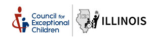 Illinois Council for Exceptional Children Logo